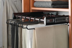 Pull Out Clothing Rack | Top Shelf Closets