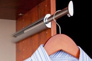Slide Out Valet Rod | Top Shelf Closets