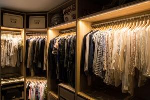 Shelf Lighting | Top Shelf Closets