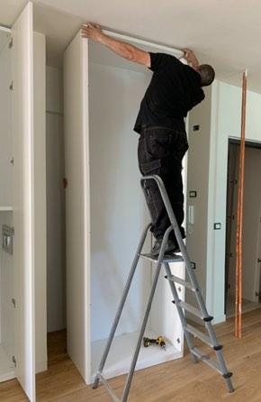 Closet installation | Top Shelf Closets