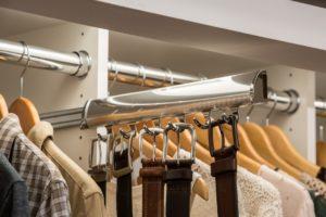 Slide Out Belt Rack | Top Shelf Closets
