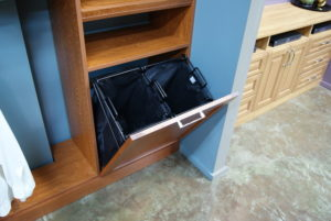 Roll Out Hamper | Top Shelf Closets