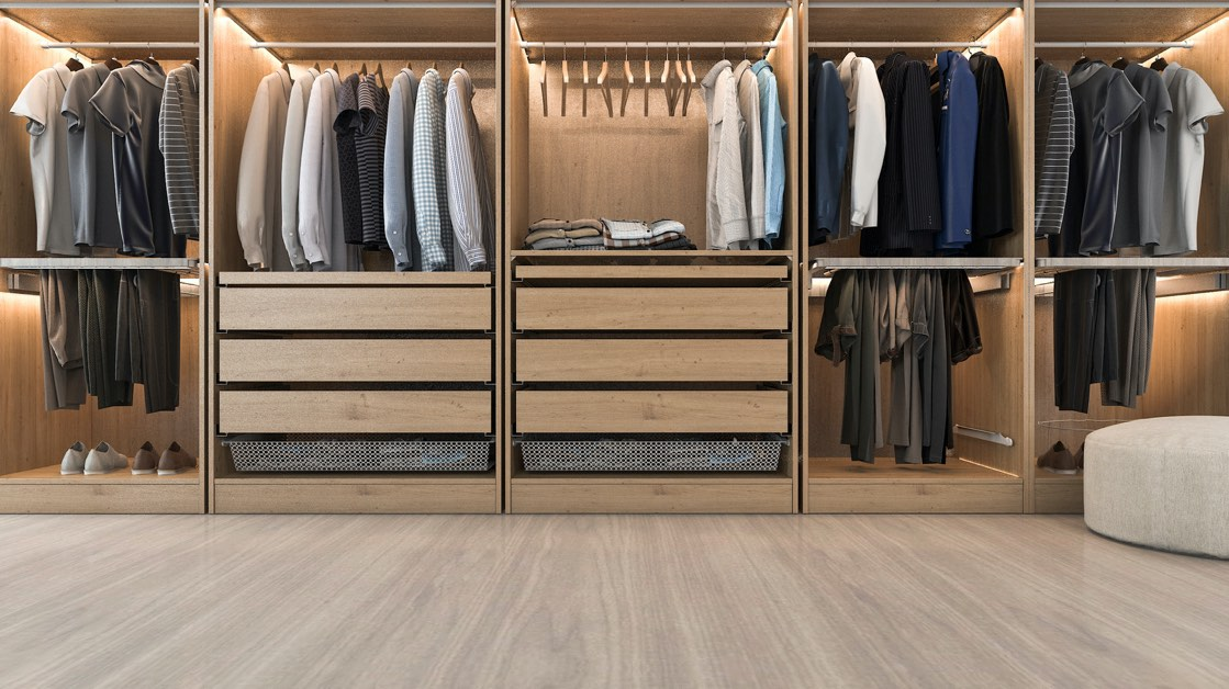 Wood closets | Top Shelf Closets