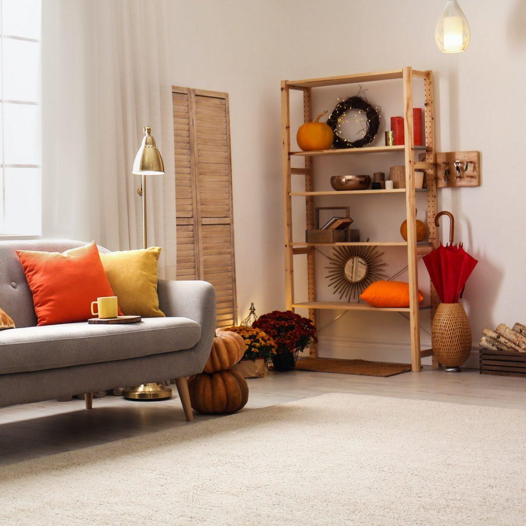 Fall decor in home   Top Shelf Closets