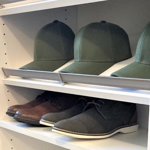 Shoe shelf organising tips | Top Shelf Closets