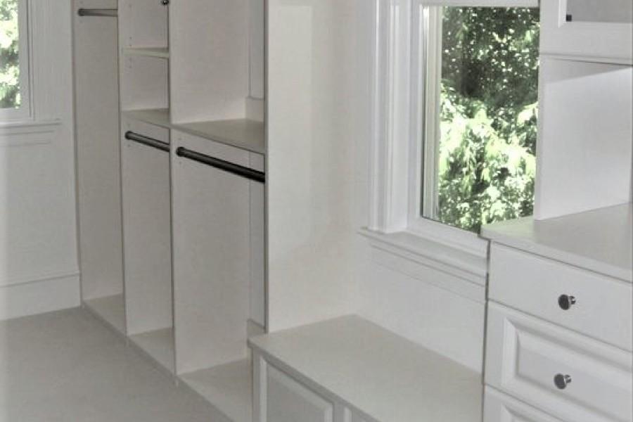 White Shelves | Top Shelf Closets