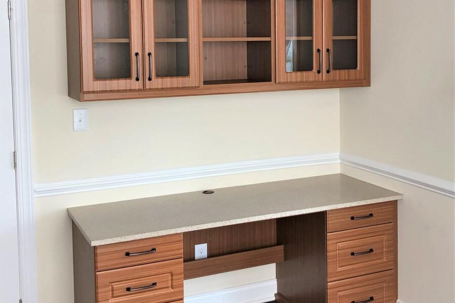 Home office flooring | Top Shelf Closets
