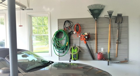 Garage wall storage | Top Shelf Closets