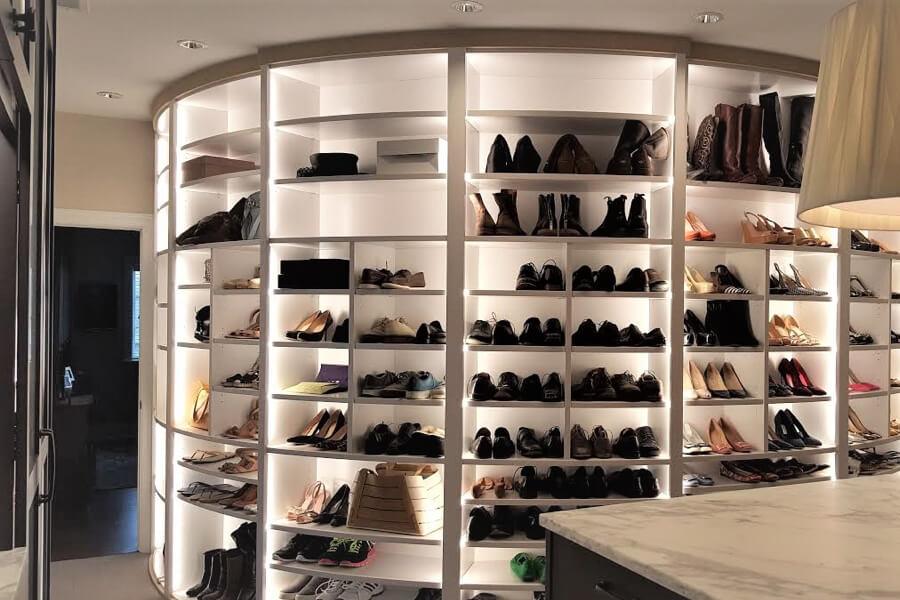 Shoe display | Top Shelf Closets